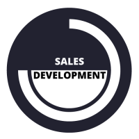 Sentire works with sales development icon